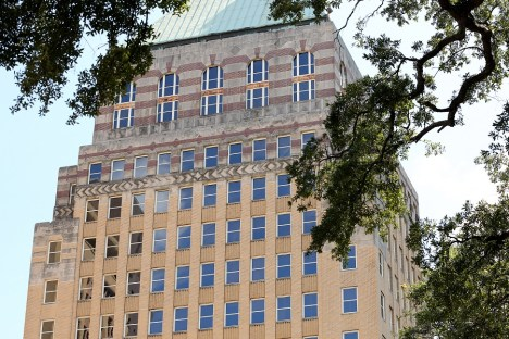 Major renovation projects, like the $30 million rehab of the former Merchants Plaza in Mobile, were among those receive state historic tax credits. (Mike Kittrell / Alabama NewsCenter)