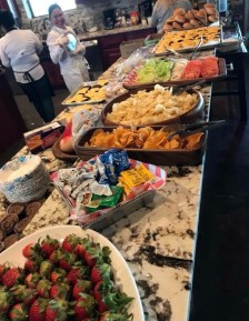 The Alabama Power Foundation lays out a tempting spread for participants in the Kidz Outdoors hunt. (contributed)