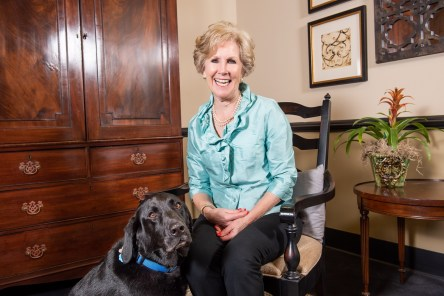 Barbara Larson has a lot of plans for her retirement. (Nik Layman/Alabama NewsCenter)