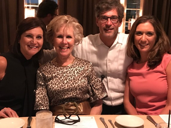 Barbara Larson with Melody Jones, Chris Hastings and Ashley Whatley. (contributed)