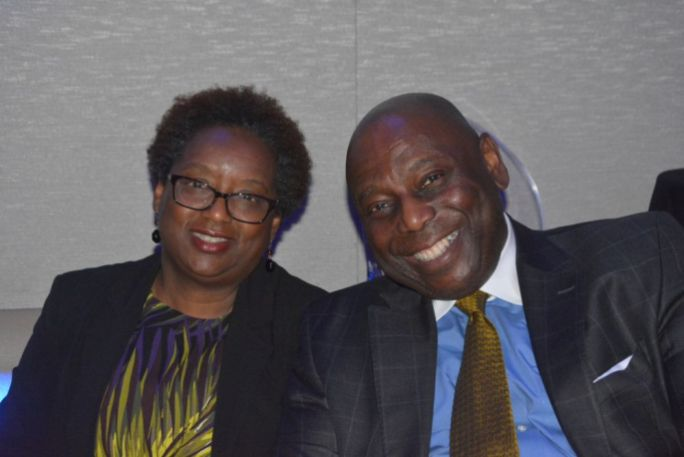 Mr. and Mrs. Greg Minard attend FUSION awards. (Stephonia Taylor McLinn for The Birmingham Times)