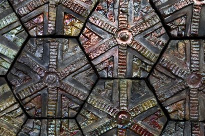 Raku tiles by Lana Hobbs. (Thrive Clay Studio)