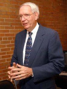 Former Alabama Gov. Guy Hunt returned to preaching in 1998. (From Encyclopedia of Alabama, courtesy of The Birmingham News)