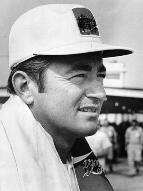 NASCAR legend Bobby Allison was a two-time winner at Talladega during the 1970s. (Encyclopedia of Alabama, photograph from The Birmingham News)
