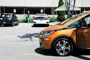 UAB is adding 18 charging stations to provide for and encourage electric vehicle use by students, faculty and staff. (Charlestan Helton / Alabama NewsCenter)
