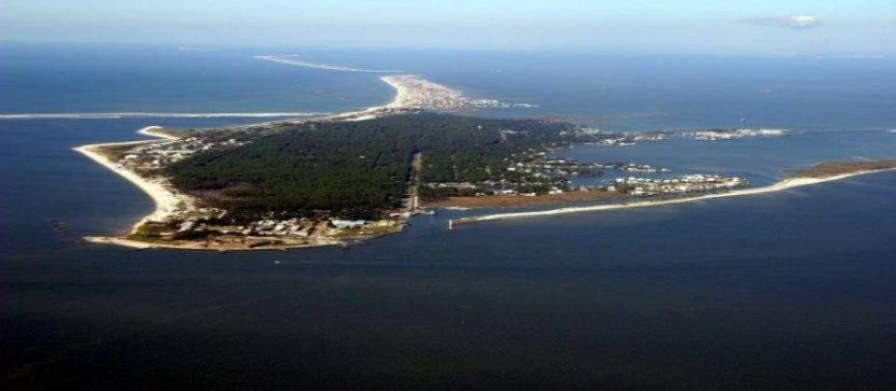 Money from the National Fish and Wildife Foundation's Emergency Coastal Resilience Fund will pay for storm protections for the Dauphin Island Causeway. (contributed)