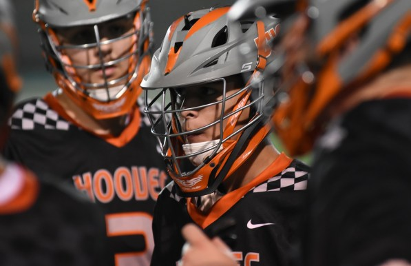 Ziven Fowler during a Hoover Bucs lacrosse game. (Solomon Crenshaw Jr./Alabama NewsCenter)