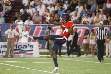 Kicking should be a strength of this year's South Alabama Jags, thanks in part to preseason All-American punter Corliss Waitman. (Brad Puckett)