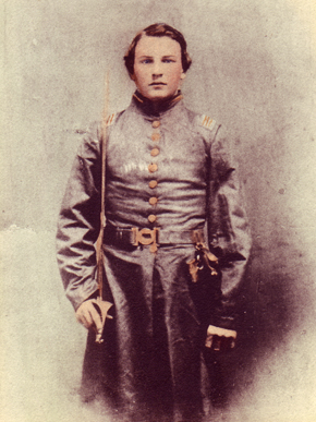John Hollis Bankhead served with the Confederate Army of Tennessee during the Civil War and was wounded during the Battle of Chickamauga in September 1863. (From Encyclopedia of Alabama, courtesy of Alabama Department of Archives and History)