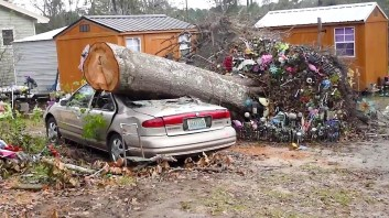 Houston County took the heaviest hit in Alabama when Hurricane Michael moved through. (Karim Shamsi-Basha)