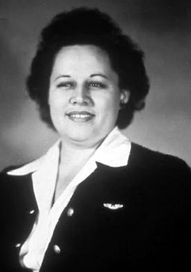 Portrait of Ann Hodges, 1949. (Bhamwiki)