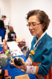 Traditional Japanese items are on display for the Birmingham Museum of Art's Japanese Heritage Festival. (Phil Free/Alabama NewsCenter)