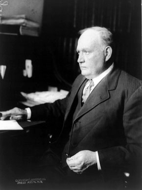 Barbour County native Henry Delamar Clayton Jr. (1857-1929) represented Alabama in the U.S. House of Representatives from 1897-1914 and was a judge of the U.S. District Court from 1914-1929. He was best-known for authoring the Clayton Antitrust Act of 1914 and for opposing the Ku Klux Klan. (From Encyclopedia of Alabama, courtesy of the Library of Congress)