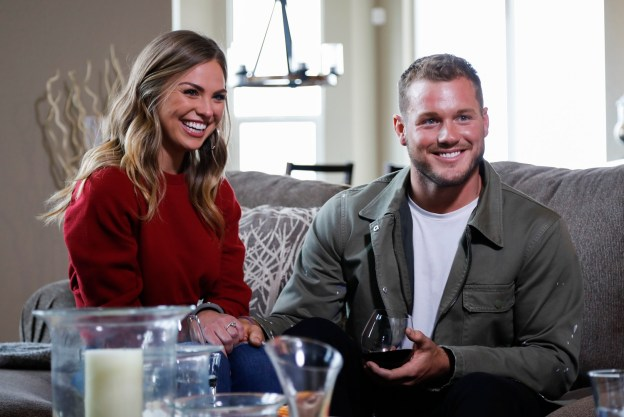 "Hannah Brown and Colton Underwood on ""The Bachelor."" Brown was rejected by Underwood but chosen to star in the new season of ""The Bachelorette."" (Josh Vertucci/ABC)"