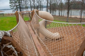 A new playground at Double Cove, Logan Martin Lake, is among the first in a series of enhancements planned at Alabama Power lakes throughout the state. (Billy Brown/Shorelines)