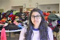 Amy Qazi with Campus Kitchen Project at Auburn University pivoted after the deadly tornadoes to feed survivors and volunteers. (Karim Shamsi-Basha / Alabama NewsCenter)