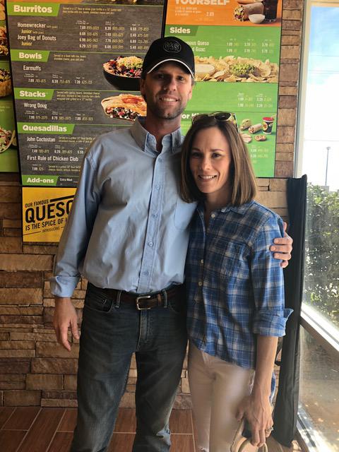 Jeff LaCour and his wife, Maureen. (Melissa Johnson Warnke/Alabama Retail Association)