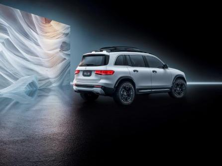 """The Mercedes-Benz Concept GLB is the most """"muscular"""" design for an SUV the automaker has showcased. (Mercedes-Benz)"""