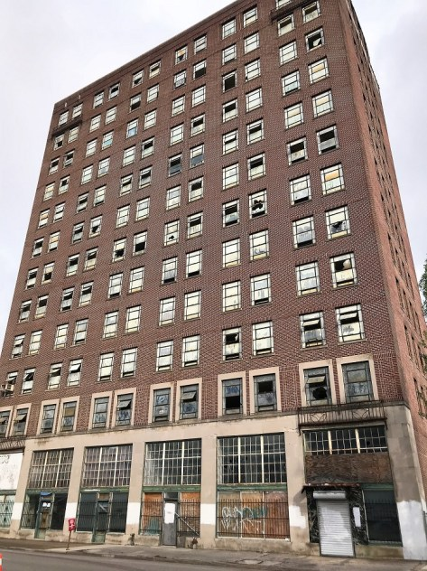 The Stonewall/American Life building will have 140 workforce apartments after a $24 million transformation. (Michael Tomberlin / Alabama NewsCenter)