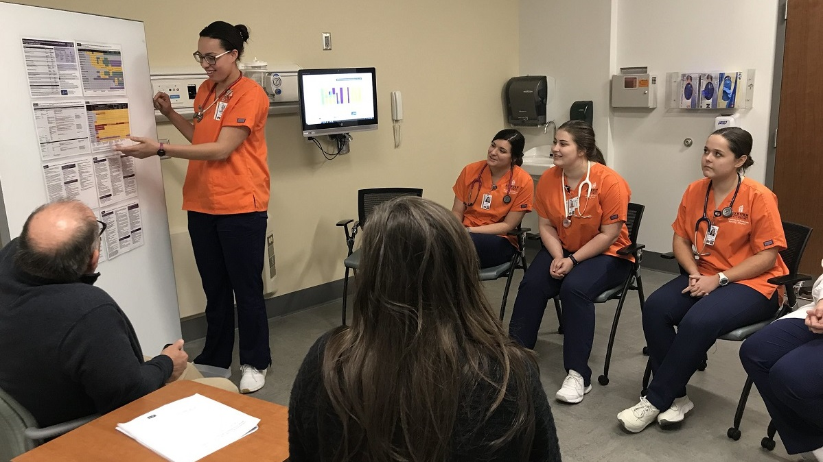 Auburn University nursing students provide immunization education in simulation exercise