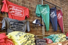 Alabama Peanut Company is keeping roasting alive on Birmingham's Morris Avenue and adding Southern favorite boiled peanuts along with peanut apparel and other products. (Brittany Faush / Alabama NewsCenter)