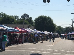 Specialty shops and restaurants will be open in historic downtown Prattville. (Contributed)