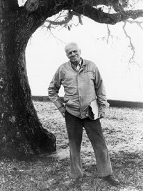 """Walker Percy and his wife, Mary, converted to Roman Catholicism when they moved to New Orleans in the late 1940s, and he wrote essays on religious philosophy, such as """"Why Are You a Catholic?"""" (From Encyclopedia of Alabama, courtesy of Rhoda K. Faust, Maple Street Book Shop, New Orleans)"""