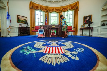 Explore the President's Oval Office. (Contributed)