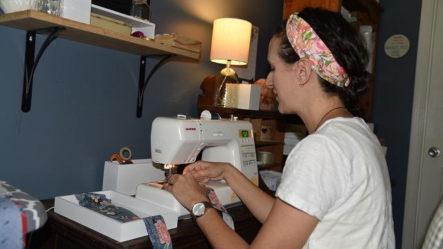 Lindsay Brook is an Alabama Maker with a sewing soul