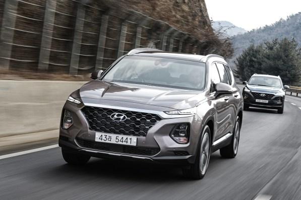 The 2019 Hyundai Santa Fe is among the vehicles produced at Hyundai Motor Manufacturing Alabama. (Hyundai)