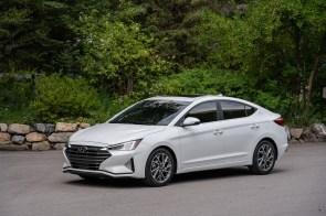 The 2020 Hyundai Elantra is among the vehicles produced at Hyundai Motor Manufacturing Alabama. (Hyundai)