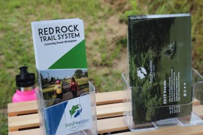 The new extension of the Five Mile Creek Greenway is part of the Red Rock Trail System managed by the Freshwater Land Trust. (Bria Bailey/AlabamaNewsCenter)