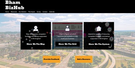Bham BizHub is an interactive website connecting entrepreneurs and small business owners with resources. (contributed)