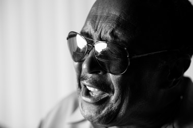 """Willie Hightower has been singing all his life in church, clubs, on hit records in the 1960s and 1970s and then with the Drifters. Last year the R&B veteran released his latest album, a foray into country music called """"Out of the Blue."""" (Phil Free/Alabama NewsCenter)"""