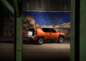 Toyota isn't saying whether its new Alabama-built SUV will have any design elements of features of past concept vehcilees like the FT-4X. (Toyota)