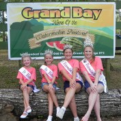 The Grand Bay Watermelon Festival will offer food, arts and crafts, music, a car show, a pretty baby contest, games, ride vendors and more (Patty Tripp)