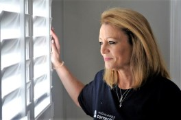 Jena Forehand is an Alabama Bright Light offering a pathway of hope for women released from prison with the Deeper House. (Karim Shamsi-Basha / Alabama NewsCenter)