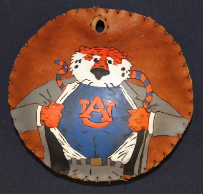 The Auburn University Southeastern Raptor Center's online auctions for jesses and lures, such this one from a previous season, begin with the first home football game against Tulane on Saturday, Sept. 7. (Auburn University)