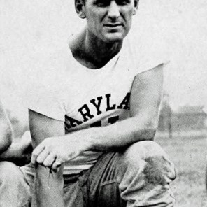 Bear Bryant while head football coach at the University of Maryland, 1945. (The Terrapin, University of Maryland; Wikipedia)