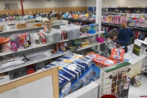 Alabama Goodwill Industries isn't just a good place to find used clothing and other items. It's an important source of employment. (Karim Shamsi-Basha/Alabama NewsCenter)