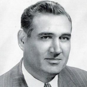 Portrait of Jim Folsom, 1955. (Glomerata, Auburn University; Wikipedia)
