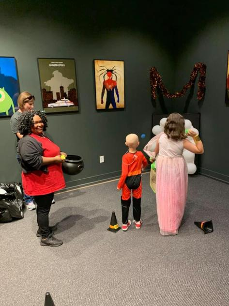 The Smile-A-Mile Spooktacular for children and families affected by childhood cancer is among the events getting support this week from Alabama Power Service Organization volunteers. (contributed)