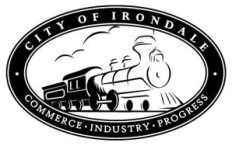 Seal of Irondale, created in 1996 by FitzMartin Design Partners. (Bhamwiki)