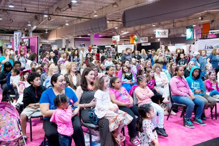 Stages are filled with hourly entertainment at the Southern Women's Show. (contributed)