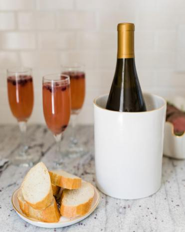Susan Gordon Pottery is constantly adding new pieces to its product line, such as Le Cru, a vase that doubles as a wine chiller. (contributed)