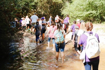 Students from Southside Middle School in Tallassee recently got hands-on and up-close education with the importance of Alabama's water systems. (contributed)