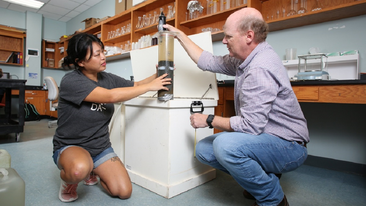 University of South Alabama researchers study three marine species to assess health of Mobile Bay