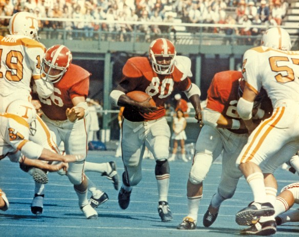 Wilbur Jackson carries the ball for Alabama against the Tennessee Vols. (contributed)