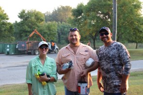 More than 100 volunteers worked to remove more than 23,000 pounds of debris from Lake Demopolis and surrounding areas during a Renew Our Rivers cleanup in October. (contributed)