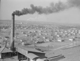 Company steel town. Jefferson County, 1937. (Arthur Rothstein, Library of Congress Prints and Photographs Division)